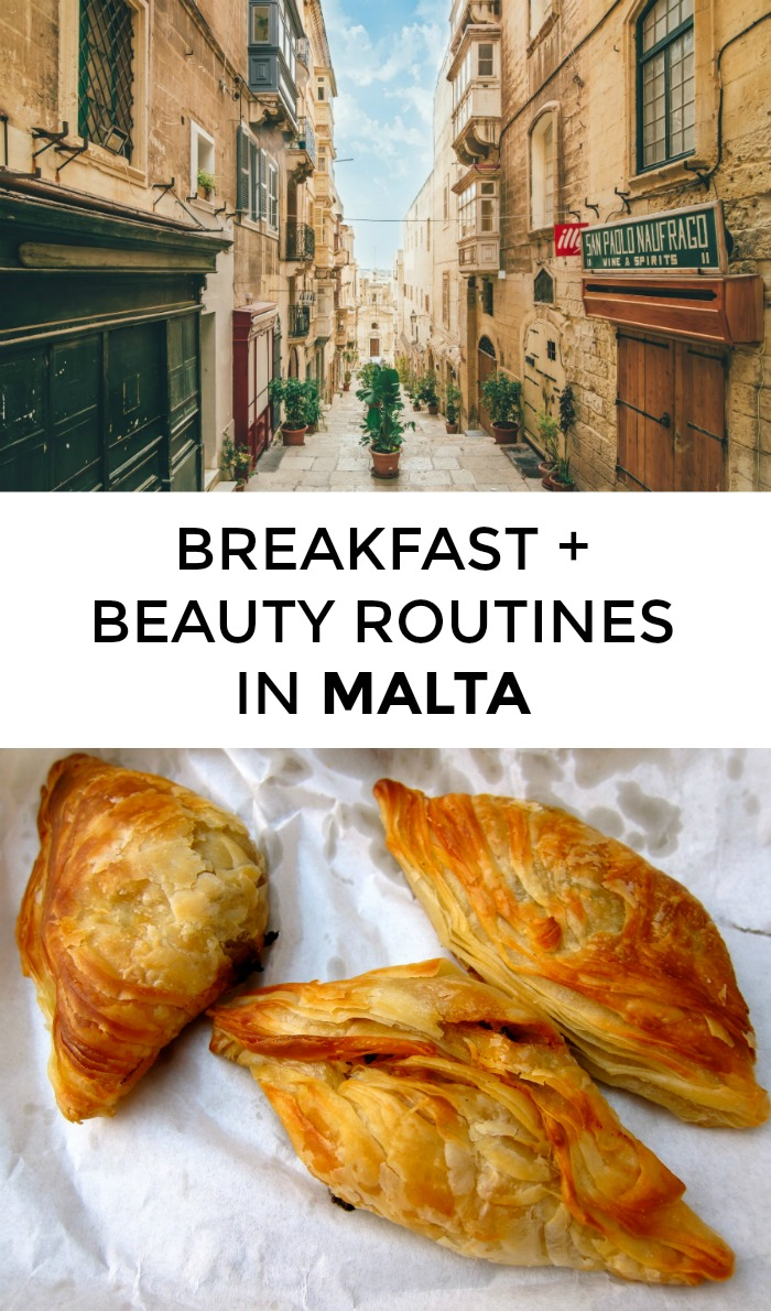 Wondering about Maltese beauty routines or breakfasts? What beauty products do the women of Malta swear by? Click through for tips from a local!