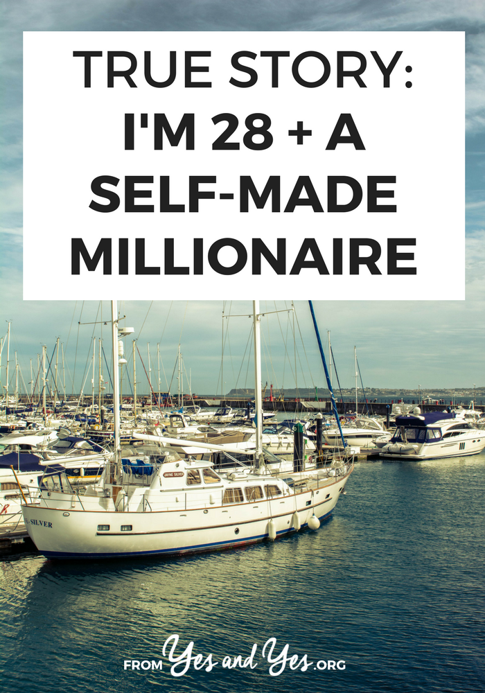 What's life like when you're a self-made millionaire ... at age 28? Click through for one man's story and his financial advice for those looking to make their first million.