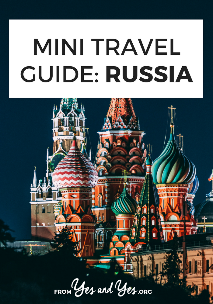 Looking for a travel guide to Russia? Click through for Russia travel tips from a local - where to go, what to do, and how to travel Russia safely, cheaply, and respectfully!