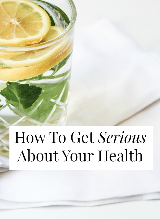 get serious about your health