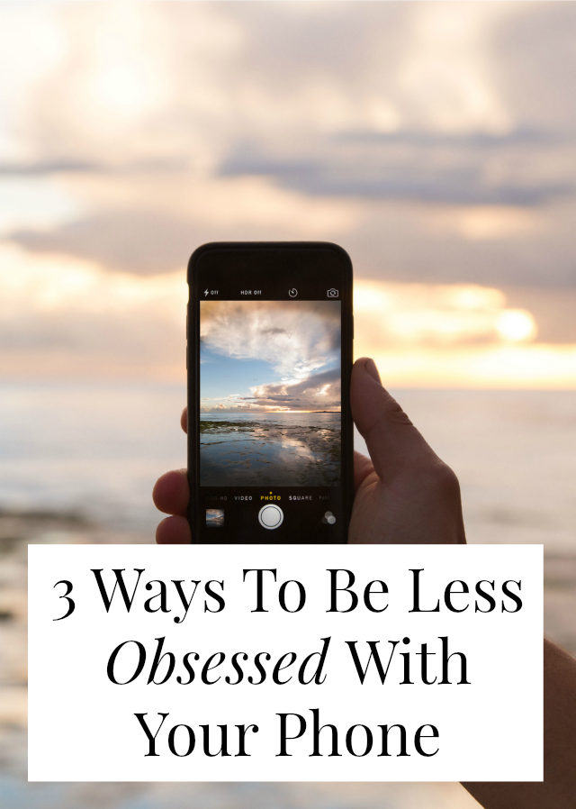 how to become less addicted to your phone