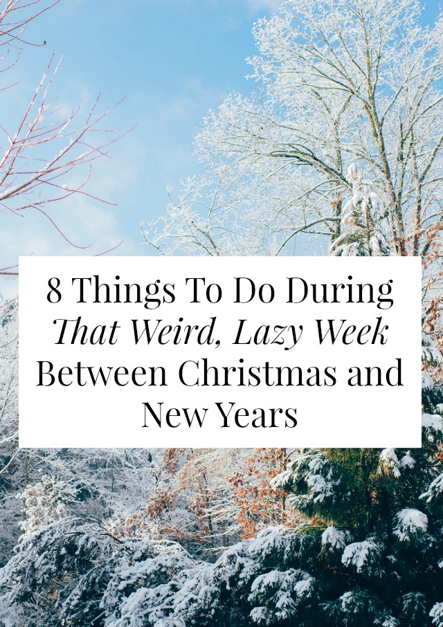 Things To Do For A New Year