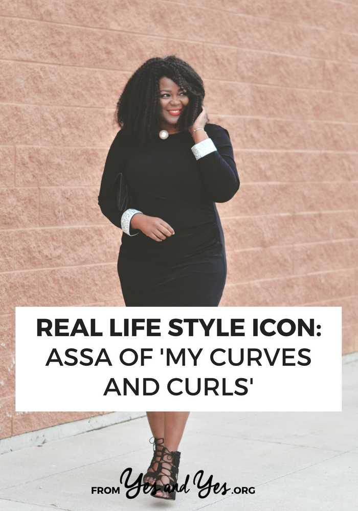 A cute little black dress with metallic details + style tips from your new favorite plus size black fashion blogger!