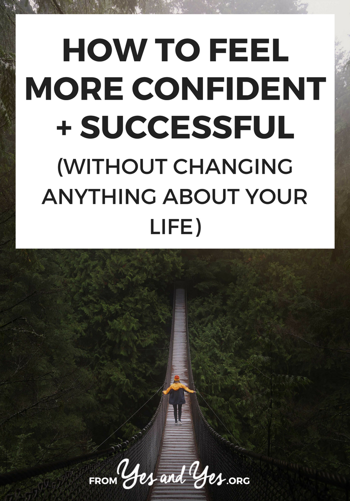 Want to feel more confident? Who doesn't? Click through for unusual advice on how to improve your self-esteem and grow your confidence