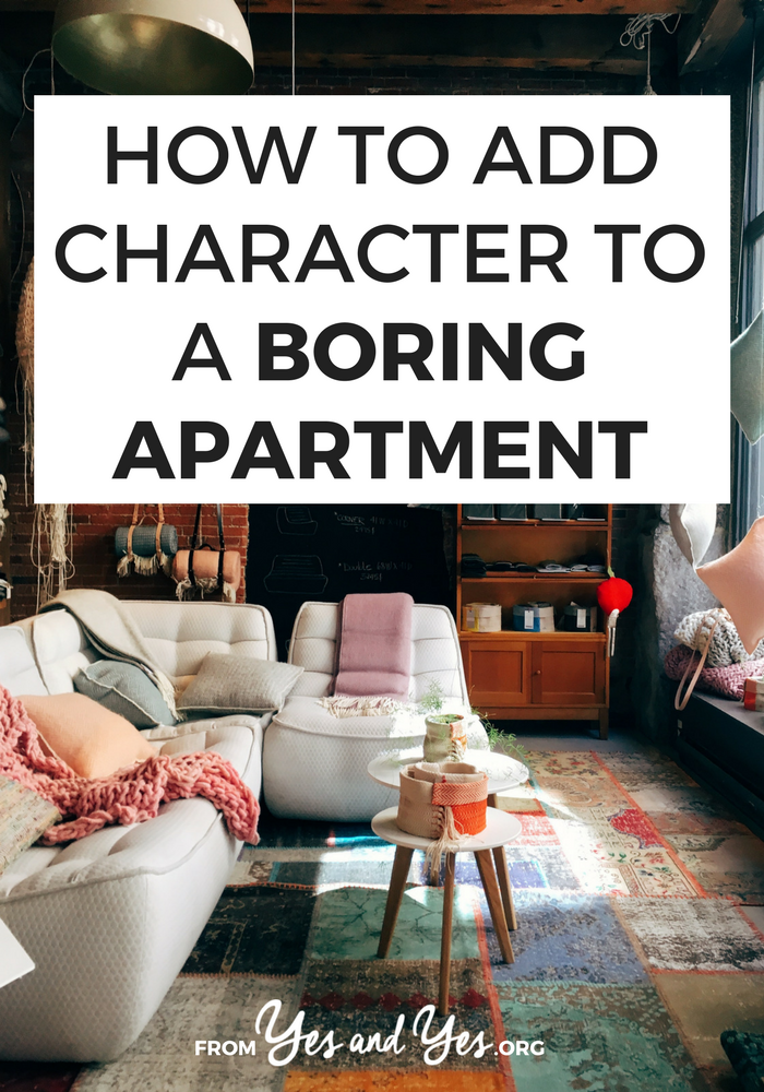 How To Add Character A Boring Apartment