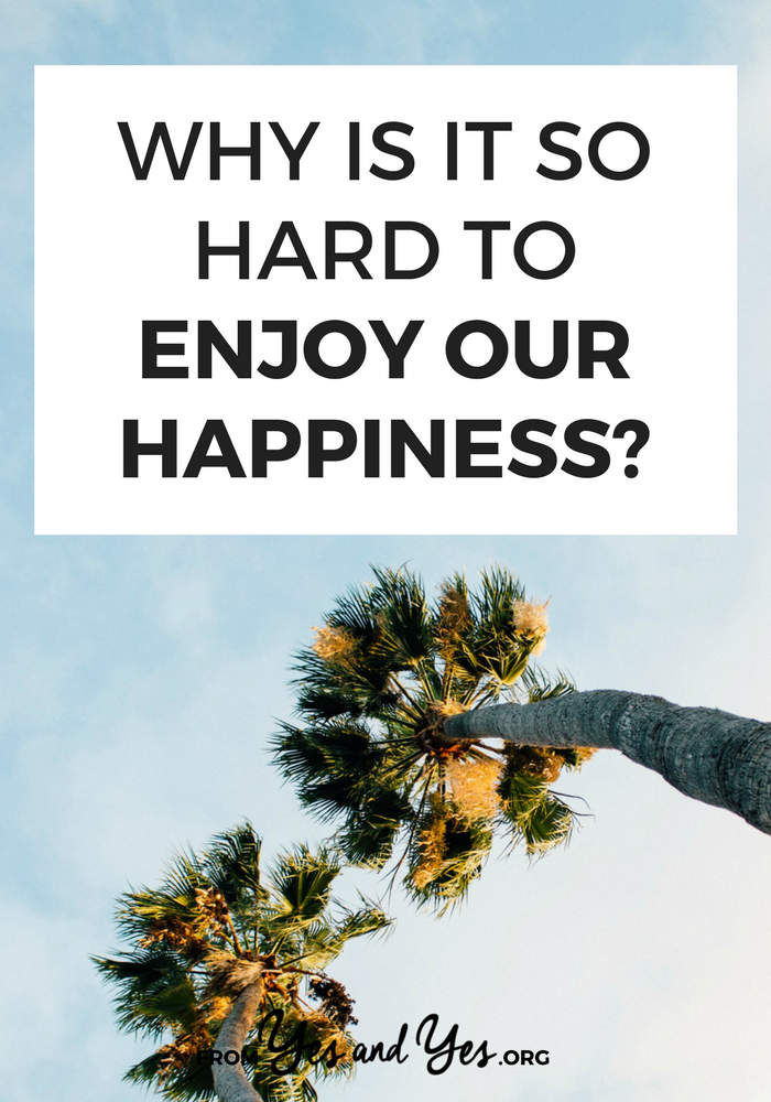 "Do you ever find yourself rushing through happy moments? Thinking ""Well, this is nice but I should really get home?"" Me too. Let's stop. Here's how >> yesandyes.org"
