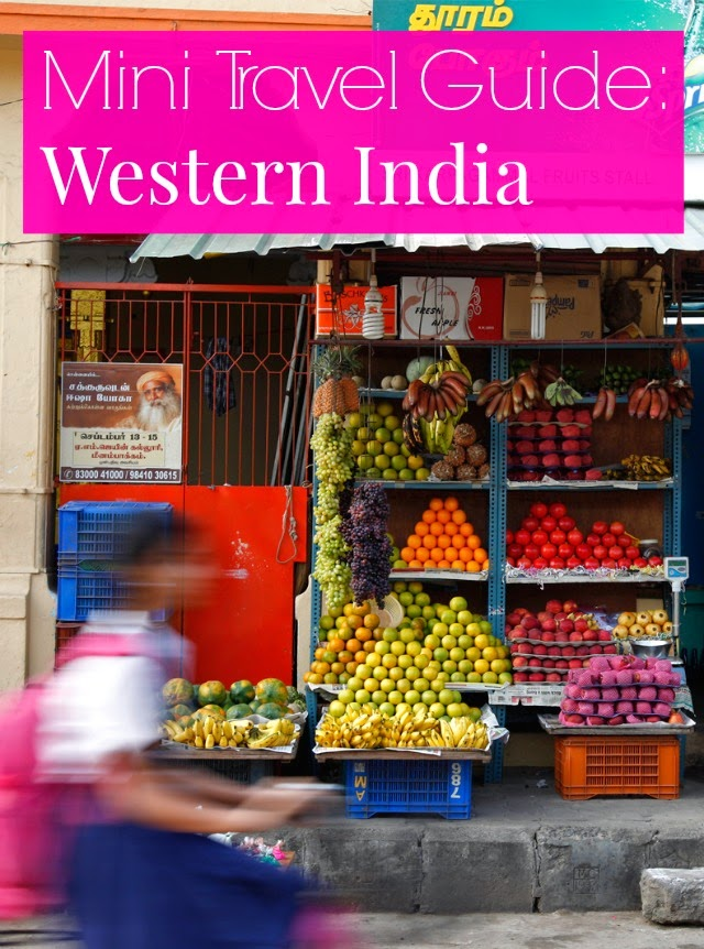 mini travel guide Western India
