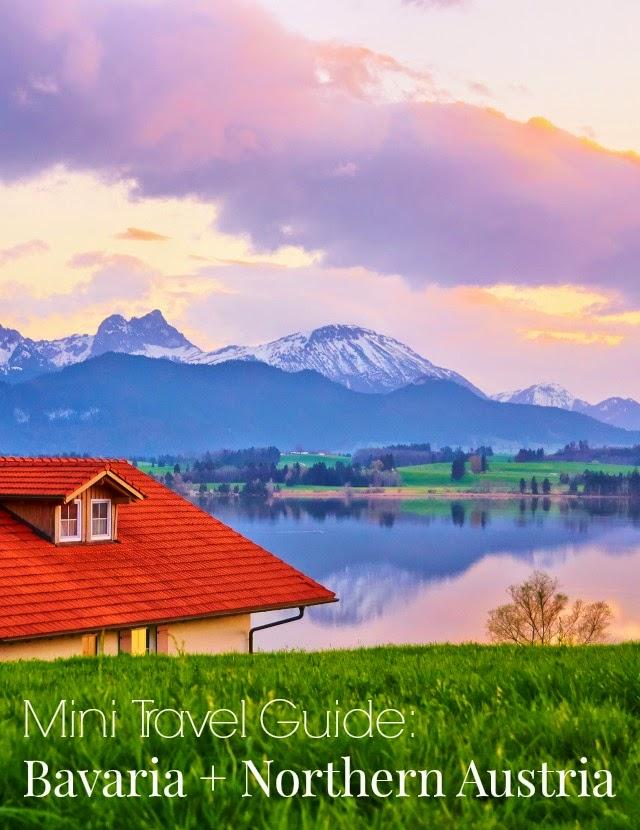 Bavaria travel tips and mini travel guide to Bavaria