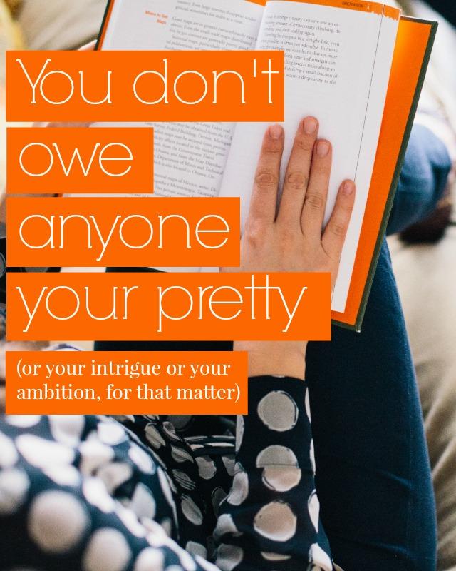 you don't owe anyone