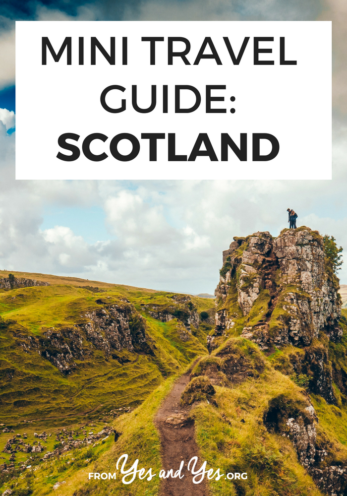 mini travel guide scotland