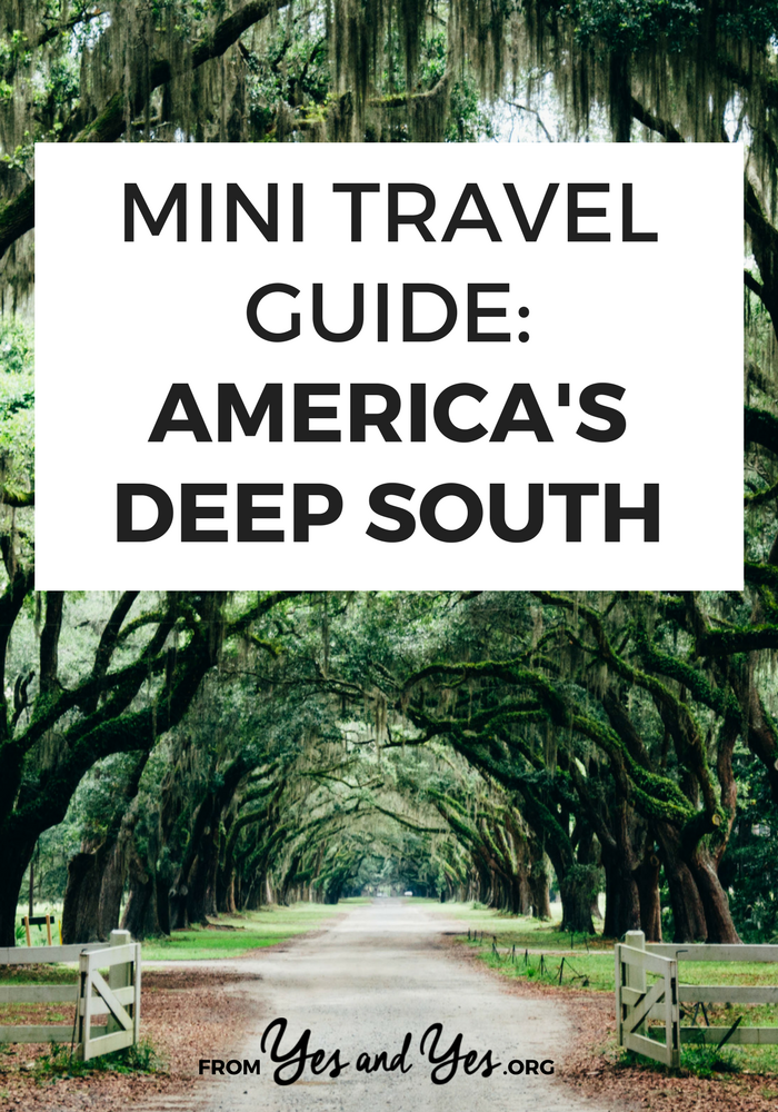 Looking for a travel guide to the Deep South? Click through for Southern travel tips - what to do, where to eat, and how to do it all cheaply!