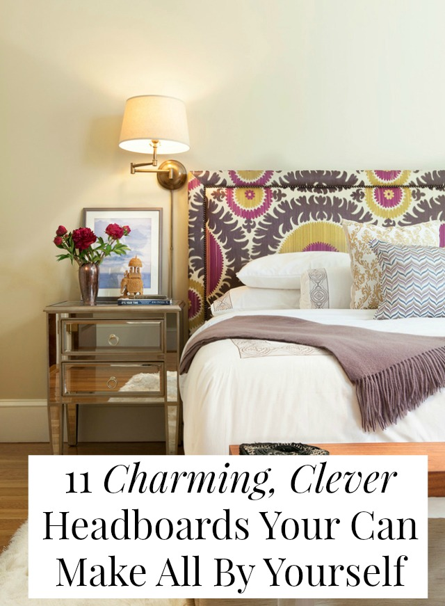 Piles of DIY headboard ideas that are totally doable and totally affordable!