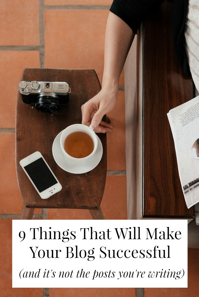 There are more things that go into a successful blog that good writing. Read on for 9 things you can do to make your blog more successful! // yesandyes.org