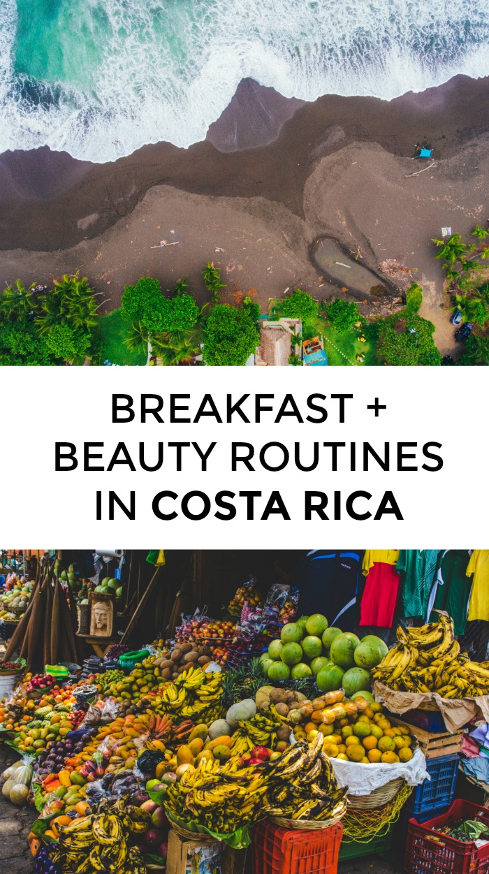 Wondering about Costa Rican beauty routines or what Costa Rican breakfast? Click through for beauty product recommendations and breakfast suggestions from a local!