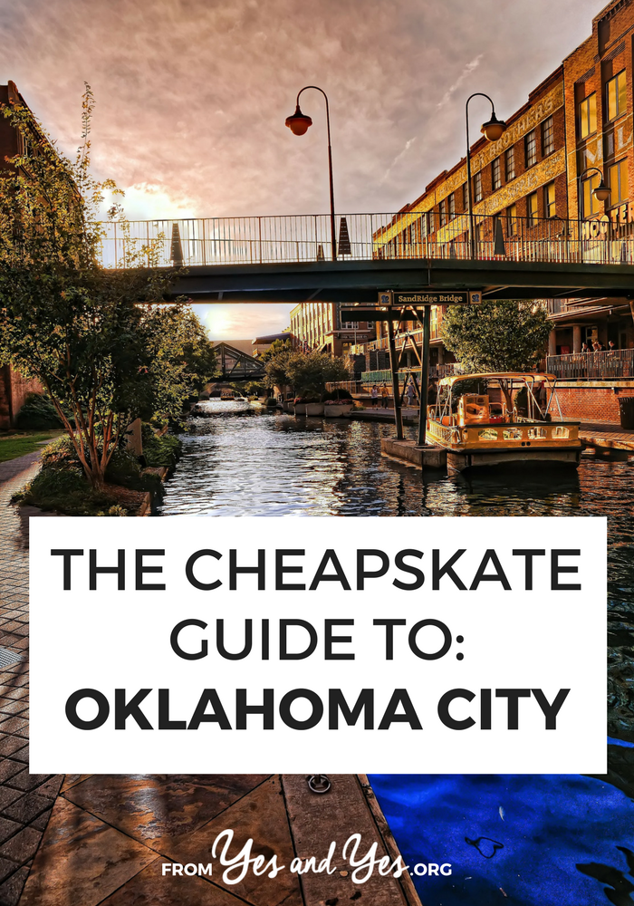 Looking for free and cheap travel ideas for Oklahoma city? Want a cheap travel guide for this awesome city? Click through for Oklahoma City travel tips from a local - what to do, where to go, and how to do it all cheaply!