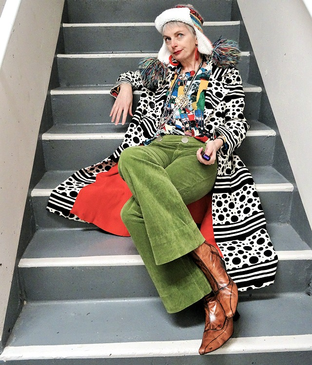 Mel from Bag and a Beret, pattern coat