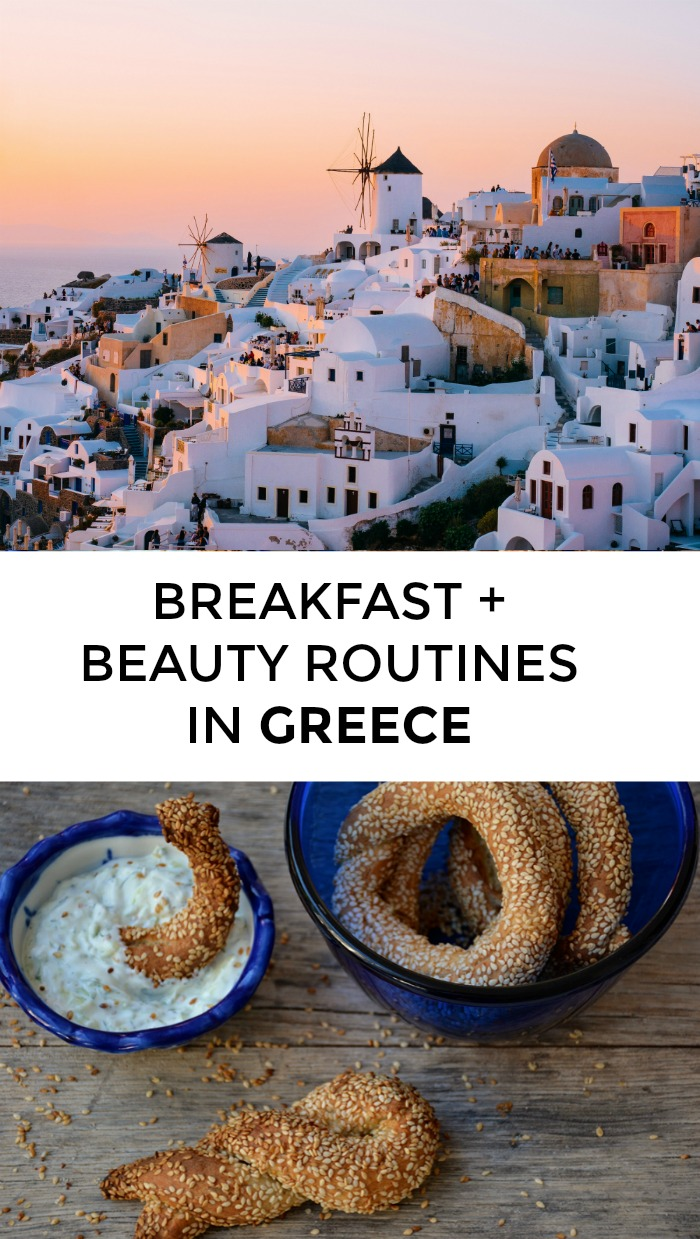 What's a typical Greek breakfast and beauty routine? Is there any truth to the saying that the traditional Greek breakfast is a frappe and a cigarette? // yesandyes.org