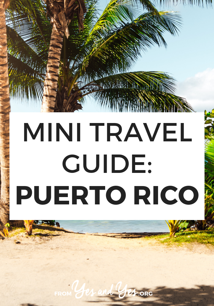 travel tips puerto rico