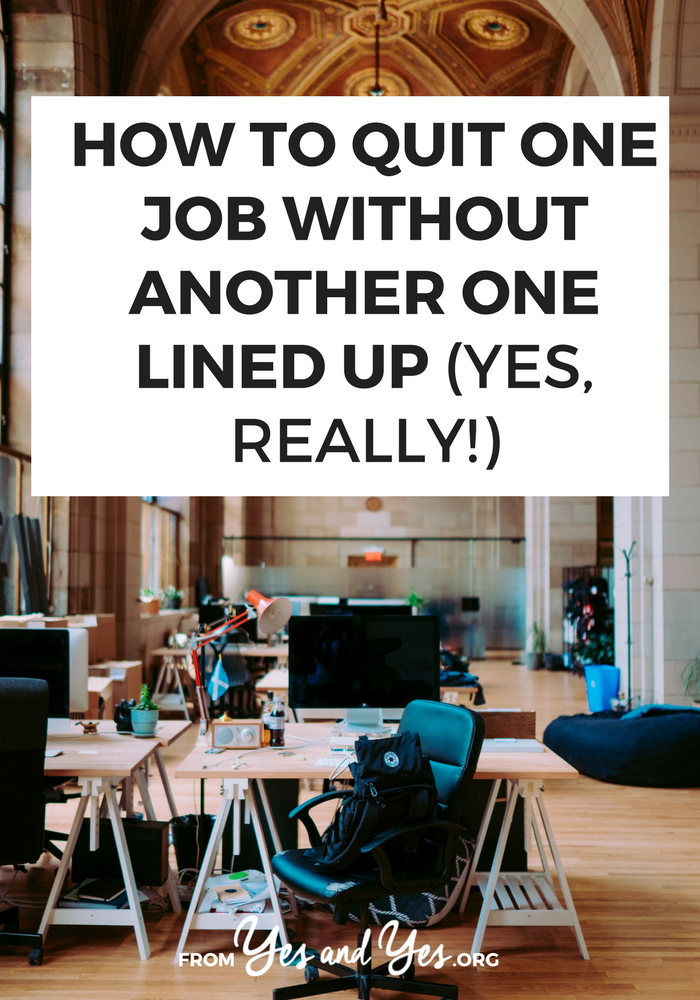 Quitting your job without another one lined up is not for the weak or meek, but it can be done! Without losing your mind! Click through for 7 tips on how to manage it!