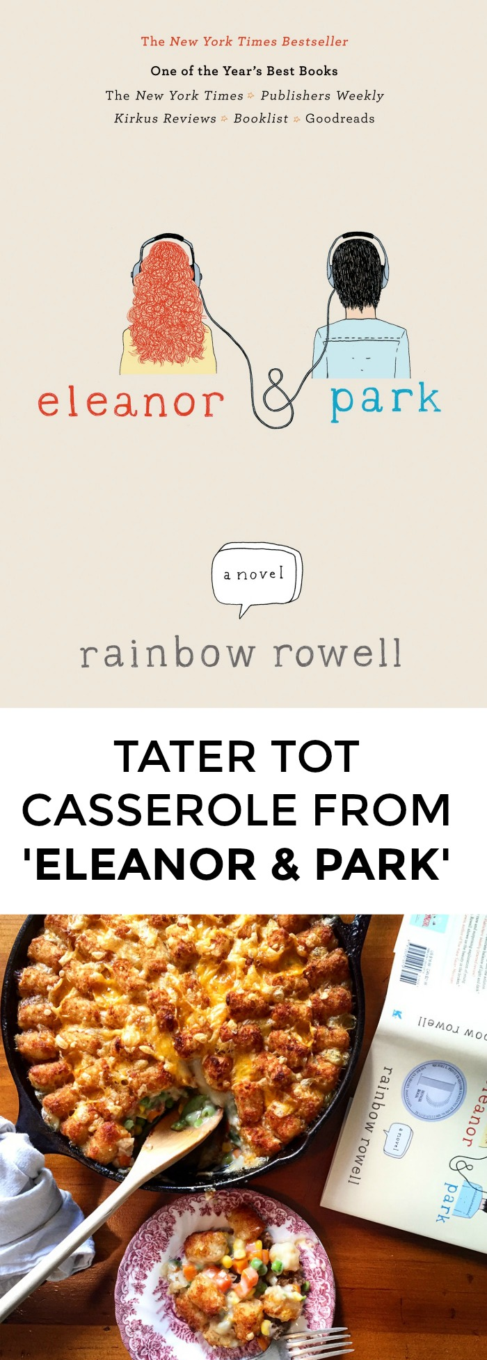 Looking for a recipe from Eleanor & Park? Want to cook something to honor your love for Rainbow Rowell? Click through for a great recipe from this awesome YA novel!