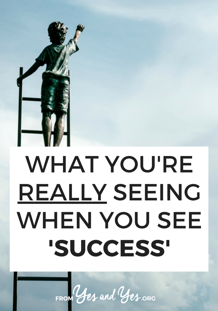 What are you really seeing when you see a $50,000 launch or a pretty vacation Instagram or a best-selling book? You might be surprised. // sarahvonbargen.com
