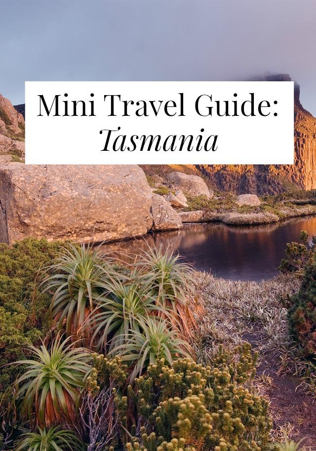 travel guide tasmania
