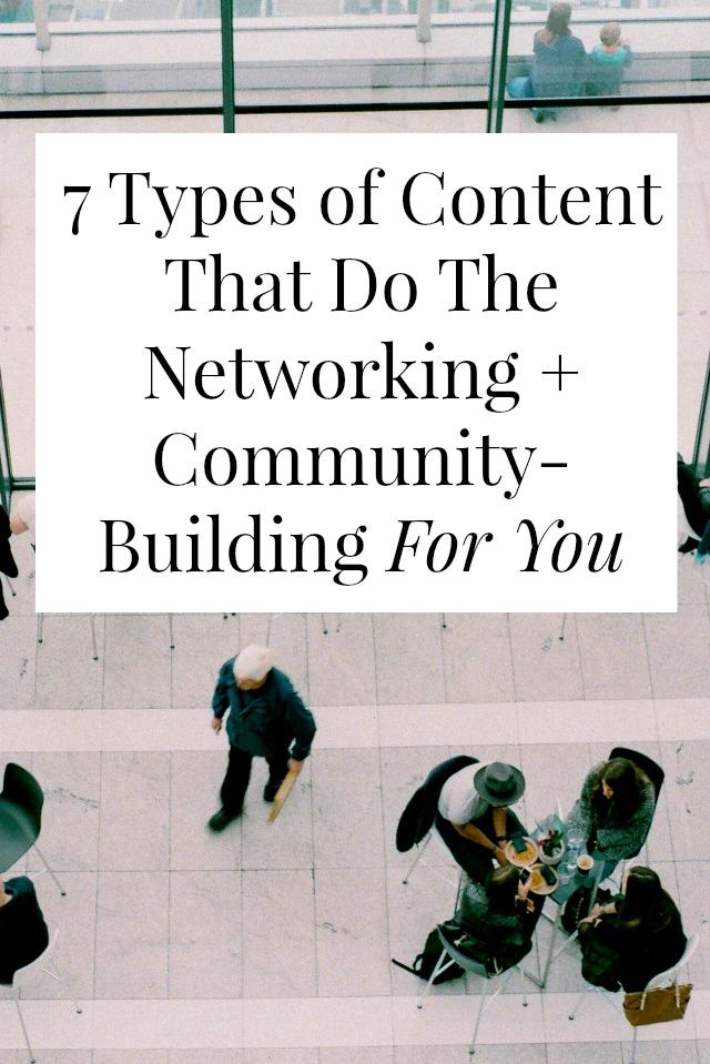 blog community building tips