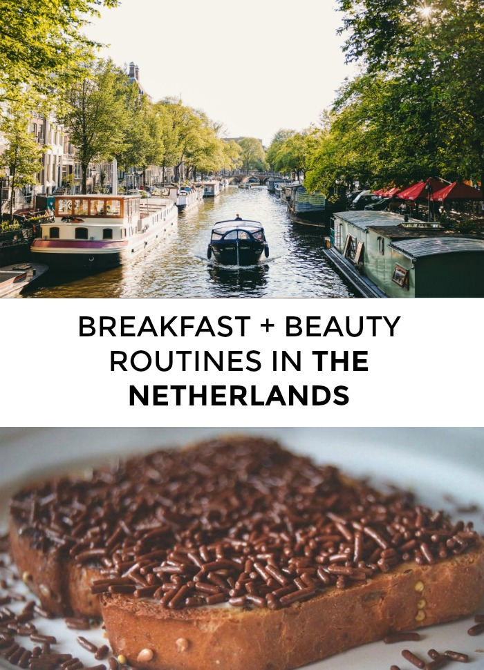 What does a typical Dutch beauty routine looks like? How do the ladies of the Netherlands get their hair so shiny?! And do they really put chocolate sprinkles on their breakfast toast? Click through to read about one Dutch woman's breakfast + beauty routine! >> yesandyes.org