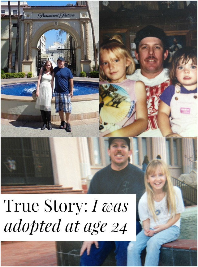 Is there such a thing as adult adoption? How does one come to be 24 and adopted? Click through for one woman's sweet, sad, important story