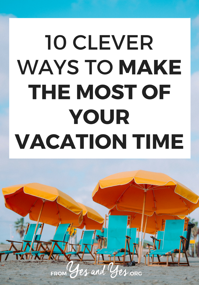 Want to milk your vacation time for all it's worth? Even if you only have two weeks? These 10 travel tips are a mix of flight booking hacks, destination suggestions, and mindset shifts. Great for the 9-to-5-er or anyone who wants to travel more but doesn't have time >> yesandyes.org