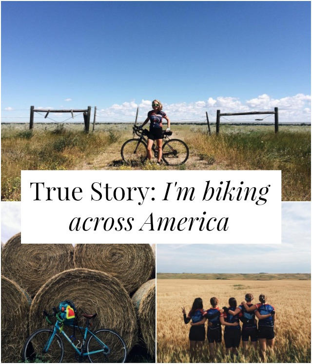 Want to bike across America? One woman shares her story and adventures with tips about how she prepared, her biggest challenges, and what she's learned! >> yesandyes.org