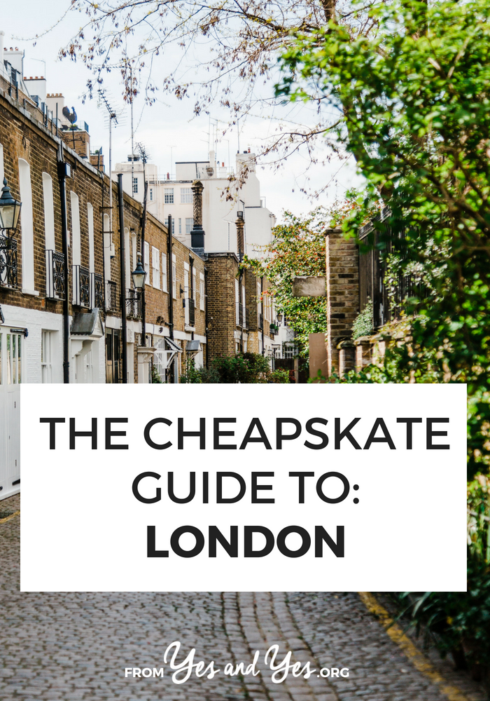 Is London travel in your future? Click through for cheap London travel tips from locals who know! Cheap food, affordable lodging, and fun activities! >> yesandyes.org