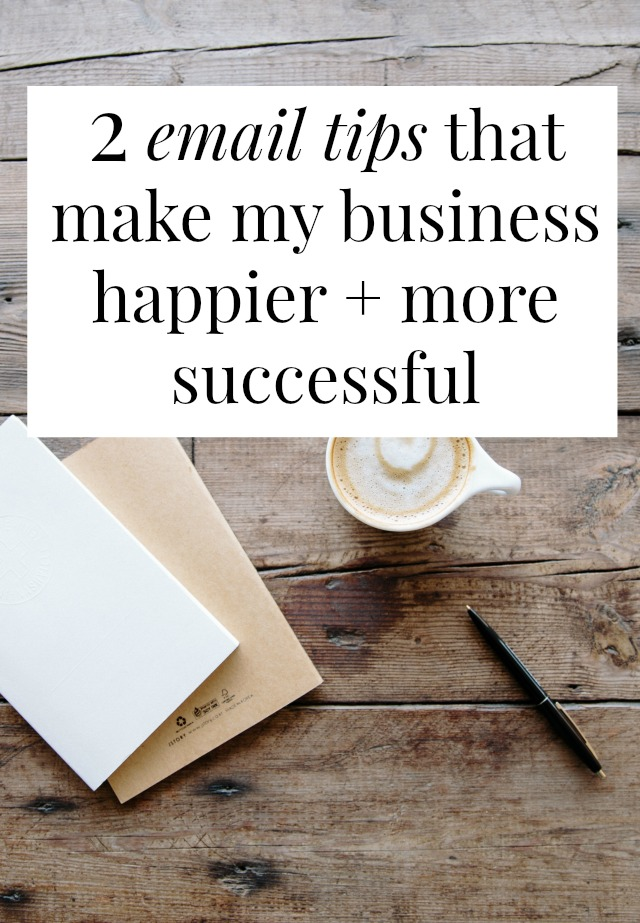 Can email tips make your business more successful? Or improve your work/life balance? I think so! These two email tricks have helped me bring in thousands more dollars and like my job better while doing it! >> yesandyes.org