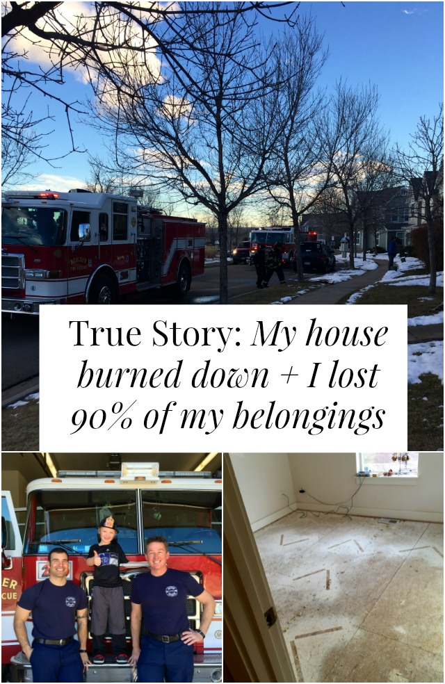 How would your life change if your house burned down? What if you lost almost everything you owned in one afternoon? Click through for one woman's store of how she dealt and what she learned >> yesandyes.org