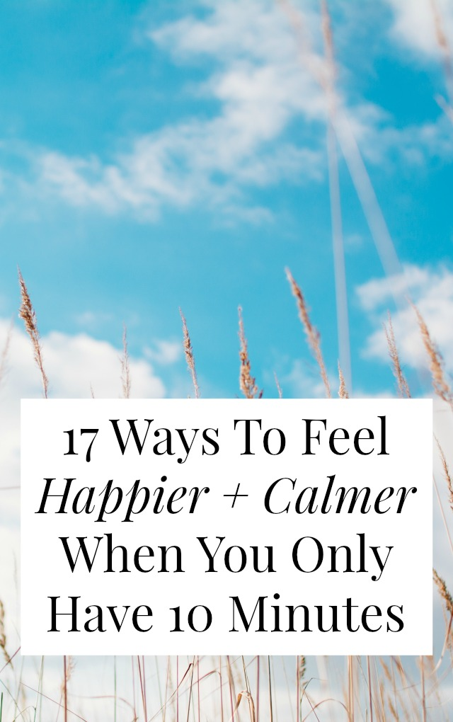 There are lots of ways to feel happier right now - even if you're busy or broke or kind of overwhelmed. Don't 'save' happiness for later! Read on for happiness tips, ideas for self-care, and ways to feel calmer, even when you're busy >> yesandyes.org