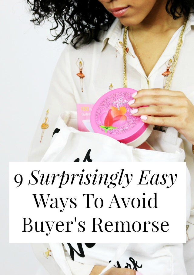 "Do you ever have buyer's remorse? We all do! One of the best budgeting tips is ""buy fewer things you don't need"" Here's how! >> yesandyes.org"