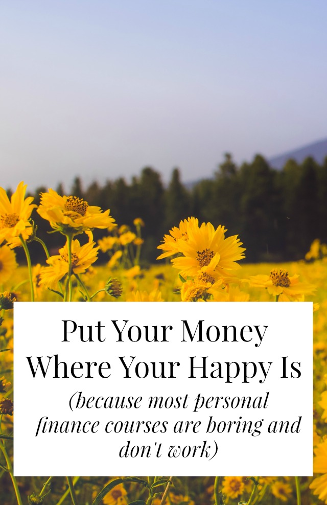 Put Your Money Where Your Happy Is is a totally new way to look at money and happiness and where the two meet. You can probably have the life you want for less than you think - and without giving up lattes or cutting the cable