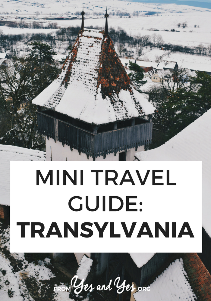 Want to travel to Transylvania? Looking for Romanian travel tips about Dracula's stomping grounds? There's tons of great advice in this written-by-a-local Transylvanian travel guide! >> yesandyes.org