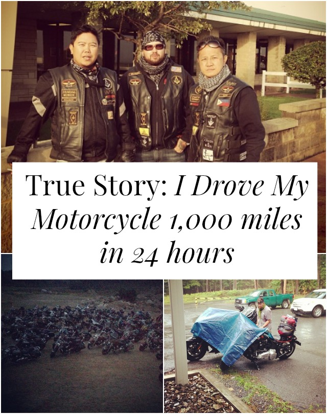 Have you ever wanted to take a cross-country motorcycle trip? That's exactly what this guy did - IN 24 HOURS. Click through to read his story! >> yesandyes.org