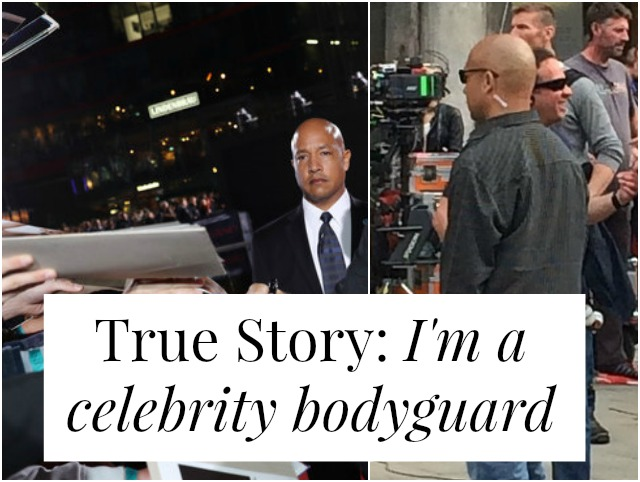 What would it be like to work as a celebrity bodyguard? Glamorous? Or filled with hate mail and weirdos and death threats? Rob Eastman has been guarding celebrities for 10+ years. Click through to read his story!