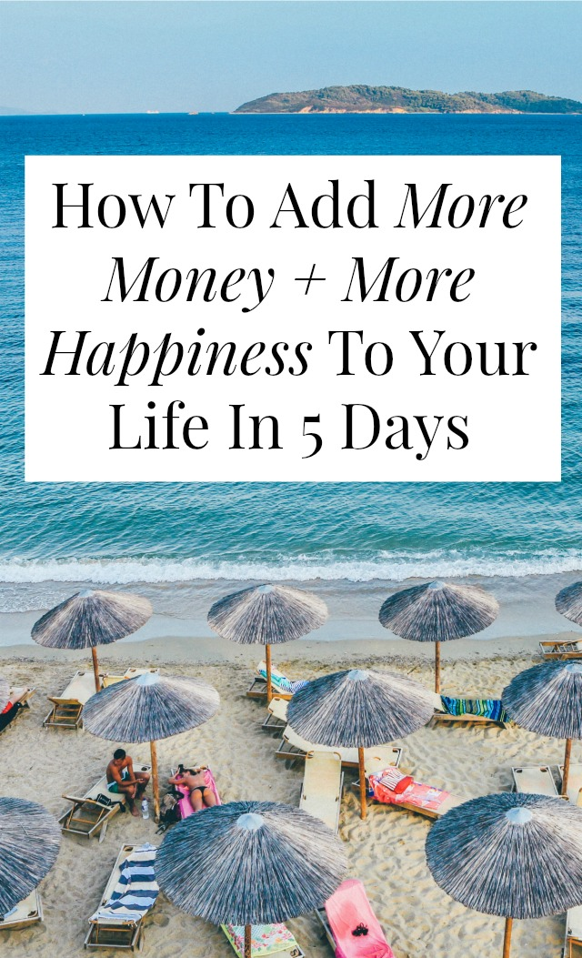 This isn't about budgeting tips. It's not about investing or snowballing debt. This is a totally different approach to money + happiness. Click through and find out how you can have more of both!
