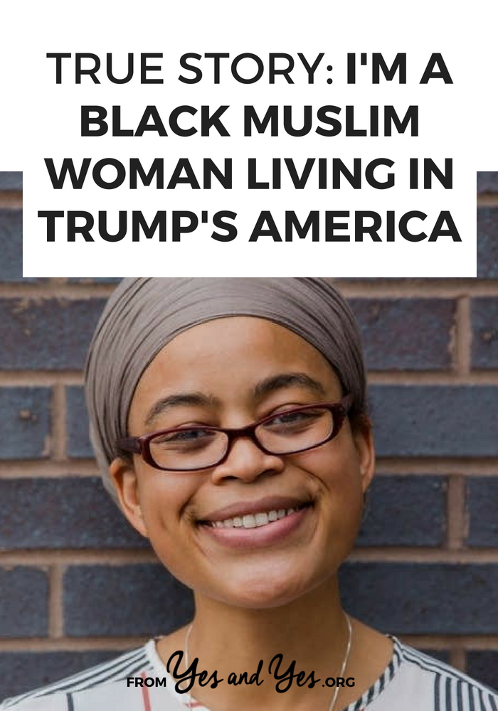 How does it feel to be a black Muslim woman in America right now? Sagirah shares her story.