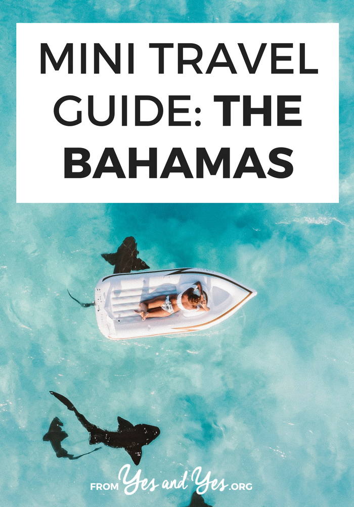Looking for a travel guide to The Bahamas? Click through for Bahama travel tips from a local on where to go, what to do, what to eat, cultural tips, and how to do it all cheaply!