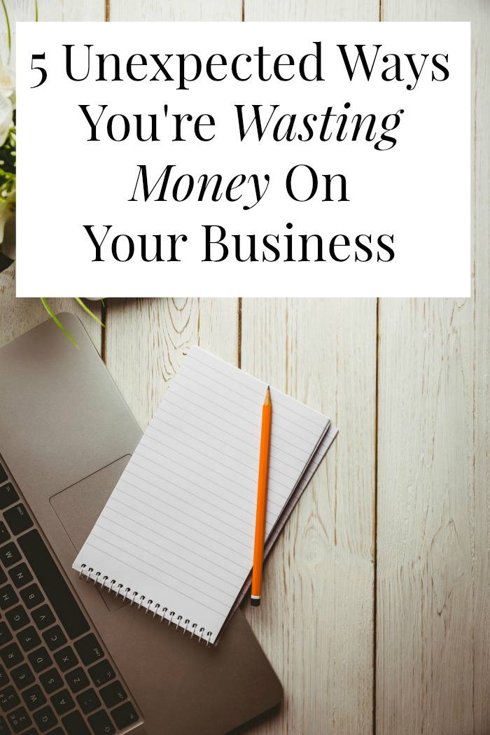 Are you wasting money on your business? Or trying to make a budget for your business? You might be spending money you don't need to spend. Click through to tighten up your business budger
