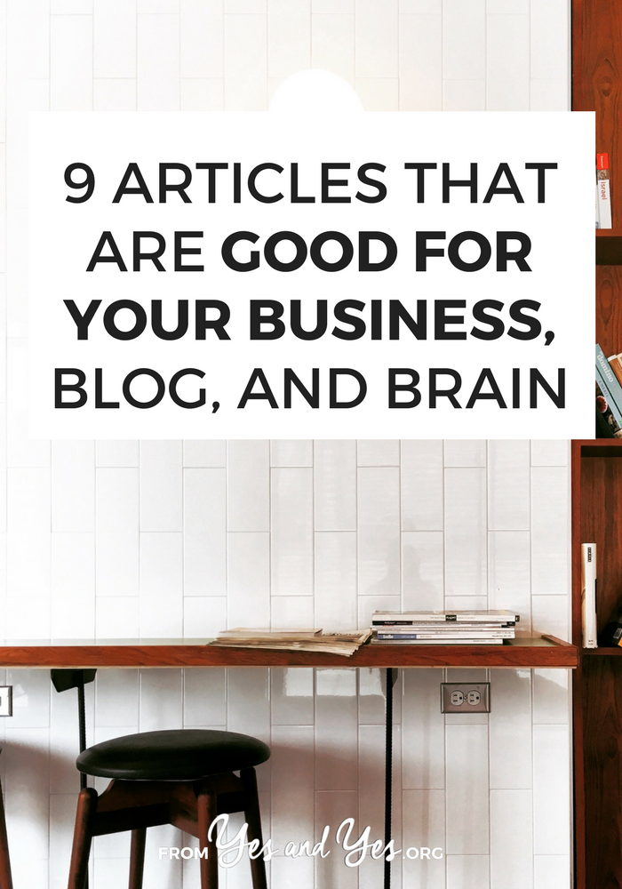 Helpful blogging links about pricing, six-figure launches, and growing your blog. Click through to read 'em!