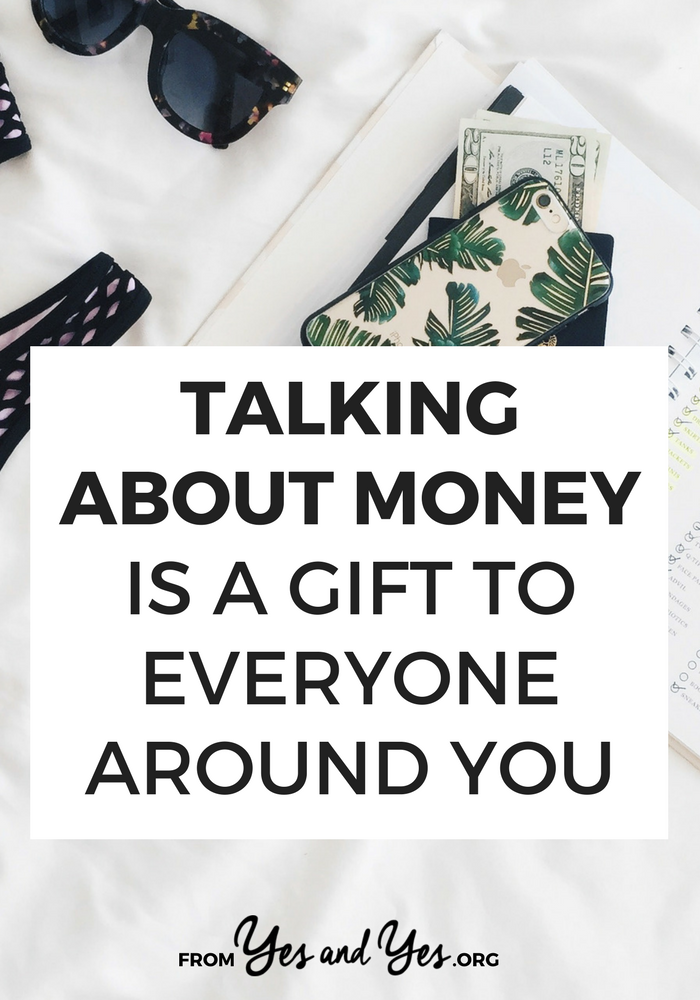 Not sure why you should talk about money - especially if you HATE talking about money? Financial conversations are super important! Click through for 4 reasons why you should have them + how to talk about money!