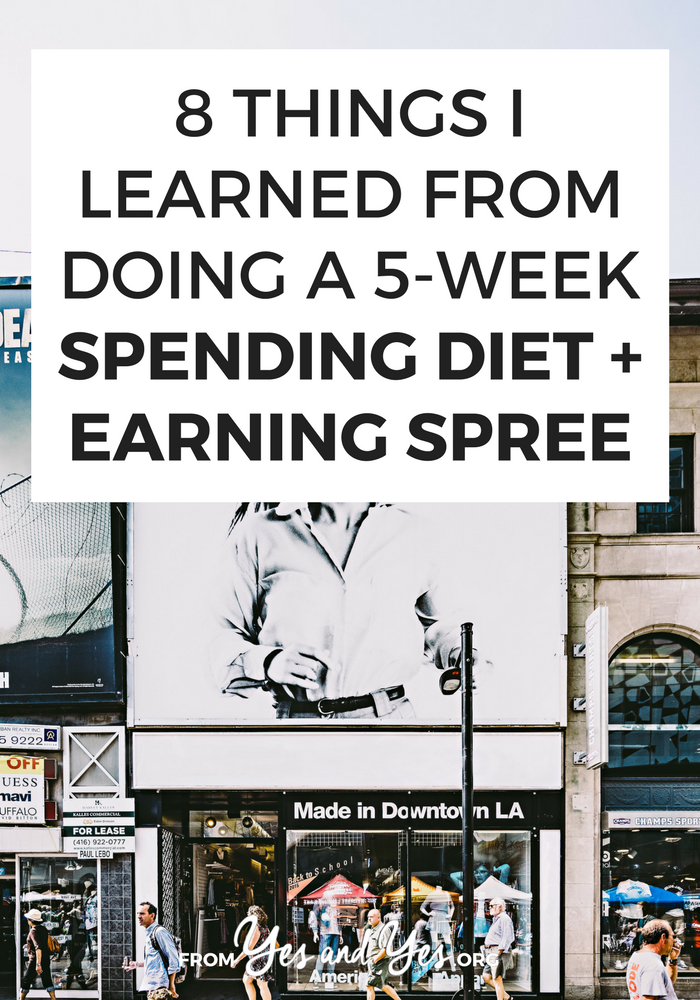 What's a spending diet? How do you do one? If you're looking for budgeting tips or ways to make extra money, this post is for you! Click through to learn more!