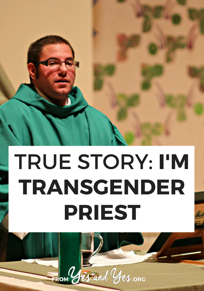 What's it like to be a priest? What's it like to be a trans priest? How do you deal when people inevitably quote Leviticus 18:22 and 20:13? Today, Shannon Kearns answers those questions for us.