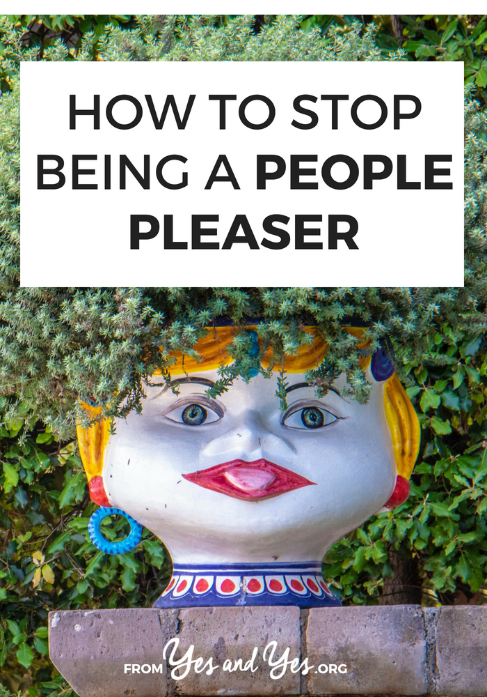 Want to stop being a people pleaser? This post is for you. Click through to learn the one phrase that has helped me say no without guilt.