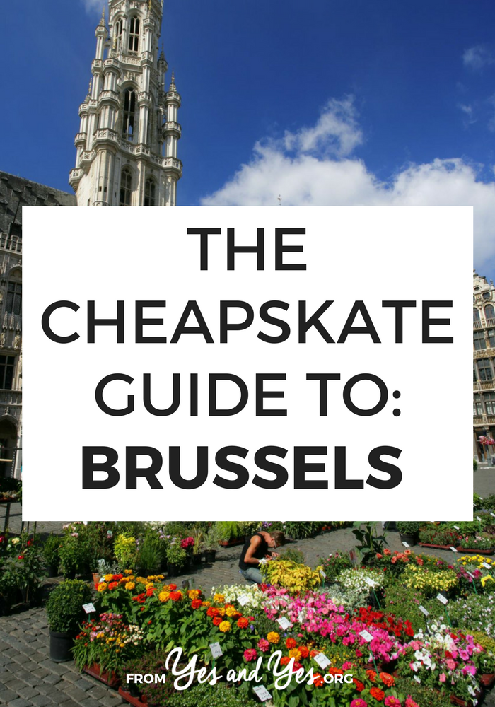 Want to travel Brussels, Belgium on the cheap? Click through for from-a-local travel tips on where to go, what to do, and what to eat on a budget!